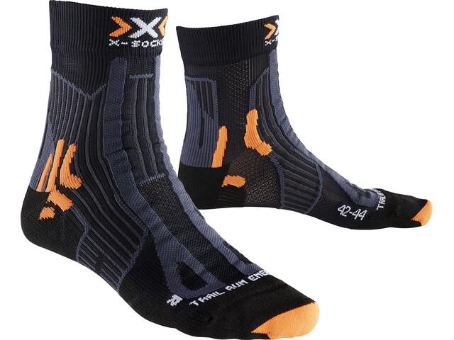 X-Socks Trail Run Energy - Calcetines Running Hombre - negro
